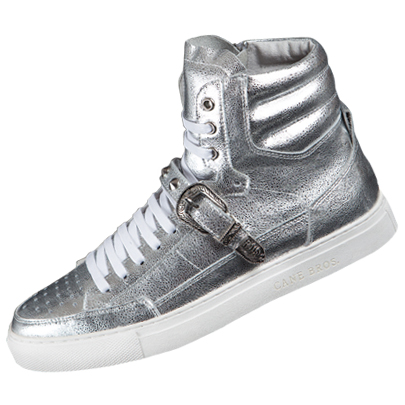 Belted HighTop_Silver
