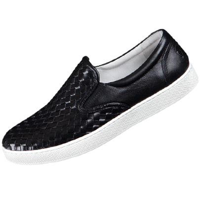 Skulllism Slip-On_Mesh black